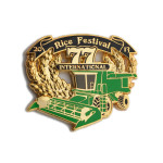 rice festival pins