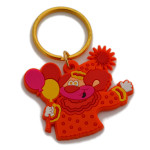 clown key chain